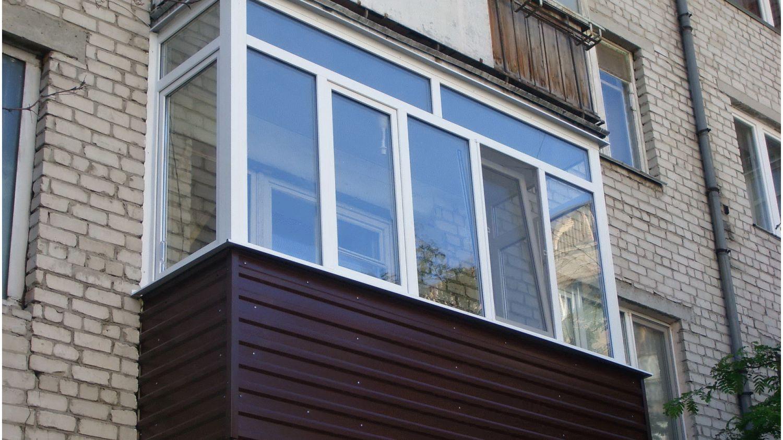 Остекление балконов и лоджий в грозном..
